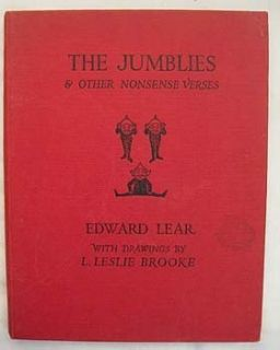RARE Antique The Jumblies Edward Lear Leslie Brooke