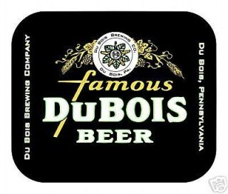 Du Bois Beer Mouse Pad High Quality Pennsylvania