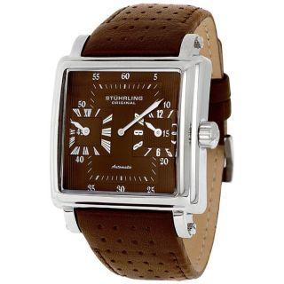 Stuhrling Original Men Manchester Dual Time Watch