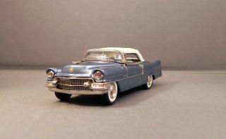 Minimarque 1955 Cadillac Eldorado Convertible Dresden Blue Closed