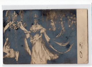 Royalty UK Coronation of King Edward VII Princess Alexandra of Denmark