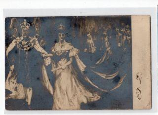 Royalty UK Coronation of King Edward VII Princess Alexandra of Denmark