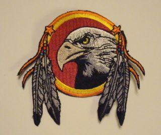 Dream Catcher Indian Emblem Eagle Feathers Patch