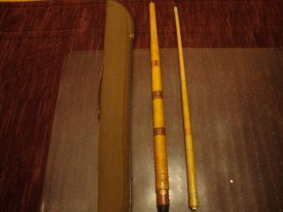Vintage Dufferin 20 Pool Cue and Case