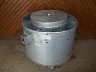Roof Top Exhaust Forced Air Commercial Kitchen Vent Fan Unit