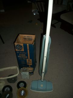 Vintage General Electric GE Floor Polisher Model FP8 WORKS original