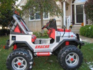 Peg Perego OD0500 24V Gaucho Superpower für 2 Kinder