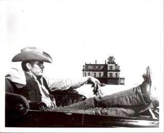 James Dean 8 x 10 Still 1956 Iconic Image from Giant