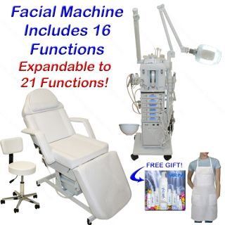 Function Facial Machine Electric Massage Table Salon Equipment
