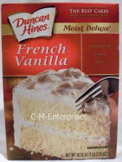 Duncan Hines French Vanilla Cake Mix 18 25 Oz