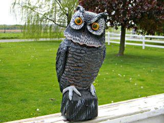... Easy Gardener 8021 Garden Defense Electronic Decoy Owl ...