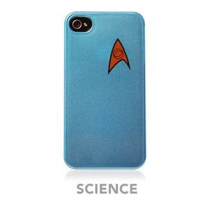 Star Trek   Starfleet iPhone Case   Blue   Science (Officially