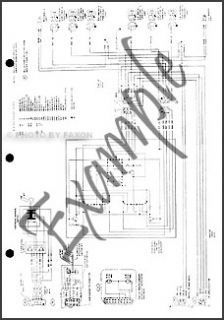 1971 Ford Pinto Foldout Electrical Wiring Diagram Schematic Original