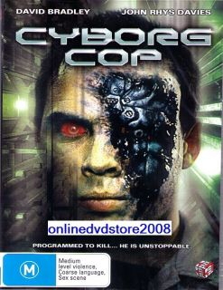 CYBORG COP David Bradley SCI FI ACTION MOVIE DVD (NEW & SEALED)