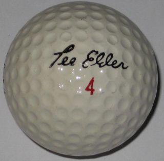 Signature Logo Golf Ball Lee Elder Lee Elder