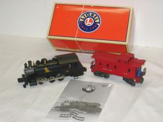 Lionel C O Dockside Steam Switcher Engine w Caboose