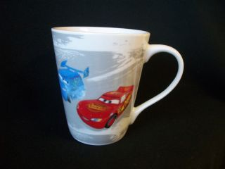 Disney Cars Lightning McQueen 10 oz Mug Dishwasher Microwave Safe