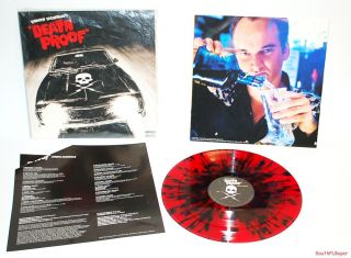 Mint Quentin Tarantinos Death Proof Blood Splatter Vinyl LP