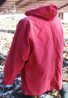 Eddie Bauer Womens Insulated Jacket Coat Removable Down Liner Hood