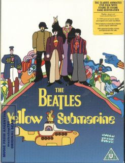 DVD The Beatles Yellow Submarine SEALED New Frame by Frame Hand