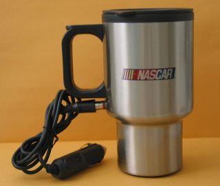 Stainless Steel Electric Car Mug. Travel Coffee Mug. New Nascar Mug