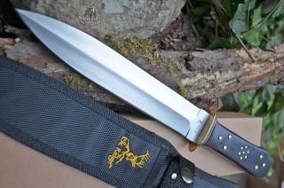 Knife New Dagger Sword Short Hunting Skinning Point Elk w Box Ridge