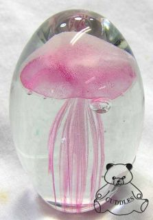 Mini Glow in Dark Glass Paperweight Dynasty Paper Weight New SM