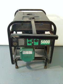 Powermate Powerbase 5000 watts Portable Electric Gas Power Generator