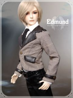 Edmund 5SD 5STARDOLL 1 3 SD Super Dollfie 62cm Male Boy BJD Free Wig