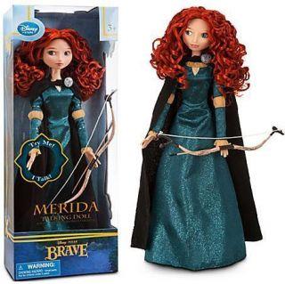 Disney Pixar Movie Brave Talking Merida Doll 17 H Figure New in Box