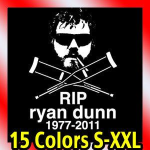 New Ryan Dunn Rip Jackass CKY T Shirt Tee Logo