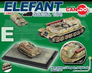 Dragon Can.Do WWII German Tanks 1144 scale Elefant / Ferdinand Series