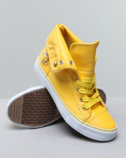 New Women Shoes Apple Bottoms Elektra Yellow Sneaker size 7M