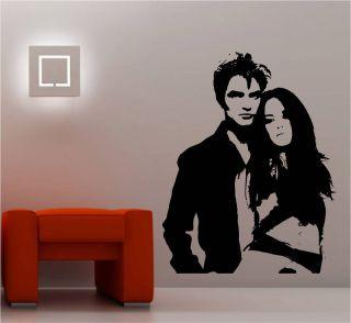 Twilight Bella Edward Wall Art Sticker Vinyl Decal