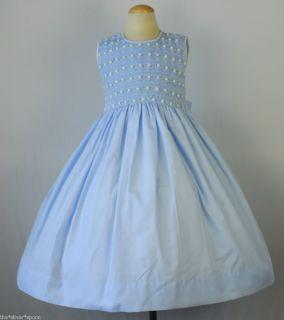 Maria Elena Luli Me Hand Smocked Flower Dress  Sz 4 $96