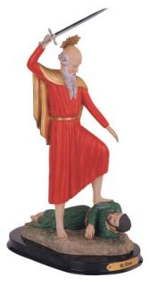 12 inch saint elias religious figurine decoration