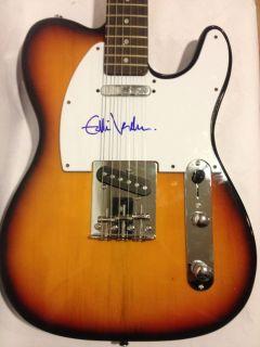 Pearl Jam Eddie Vedder Signed Autographed Guitar