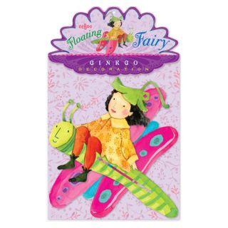 eeBoo Ginkgo Floating Fairy Durable Cardboard Decoration Approx 10 25