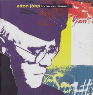 Elton John 1990 to Be Continued Tour Album Insert Book