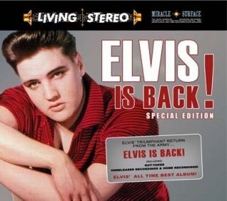 Elvis Collectors CD Elvis Is Back' Special Edition 2 CD Set