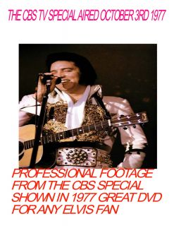 Elvis in Concert The 1977 CBS TV Special DVD