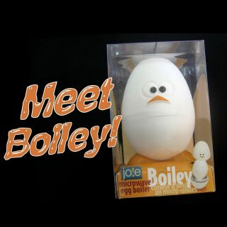 New Boiley Microwaveable Cooker Egg Boiler Joie Gadget
