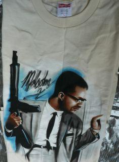 Supreme Malcolm x Shirt Box Logo Camp Blazer Nike Bruin