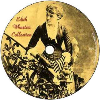 Edith Wharton Collection   16 complete audio books on 1 DVD (audio