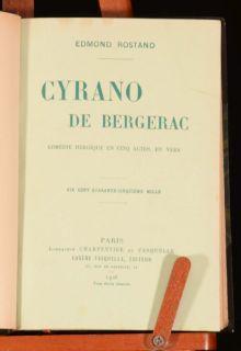 de Bergerac; Comedie Heroique en Cinq Actes en vers by Edmond Rostand