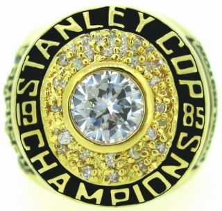 Edmonton Oilers 1985 Stanley Cup Championsship Champions Ring US 11