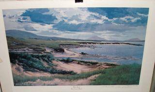 Edmund Sullivan White Strand Ireland Signed Print