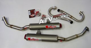Big Gun EVO Dual Exhaust Pipe Muffler Yamaha Raptor 700