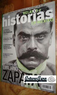 New Emiliano Zapata Historias Mexican Magazine 2012 Mexico Spanish