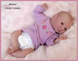 EMMA REBORN Mini Baby ~ Vinyl Doll Ki by Denise Pra 10  Mini Doll